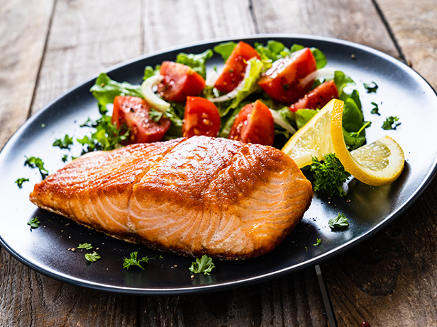 Salmon with Brown Sugar & Mustard Glaze Recipe